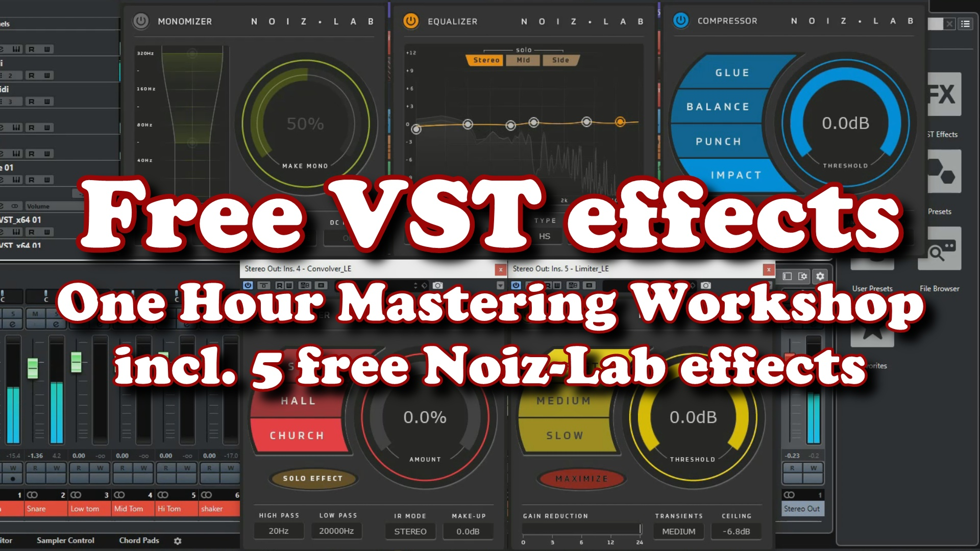 The One Hour Mastering Workshop