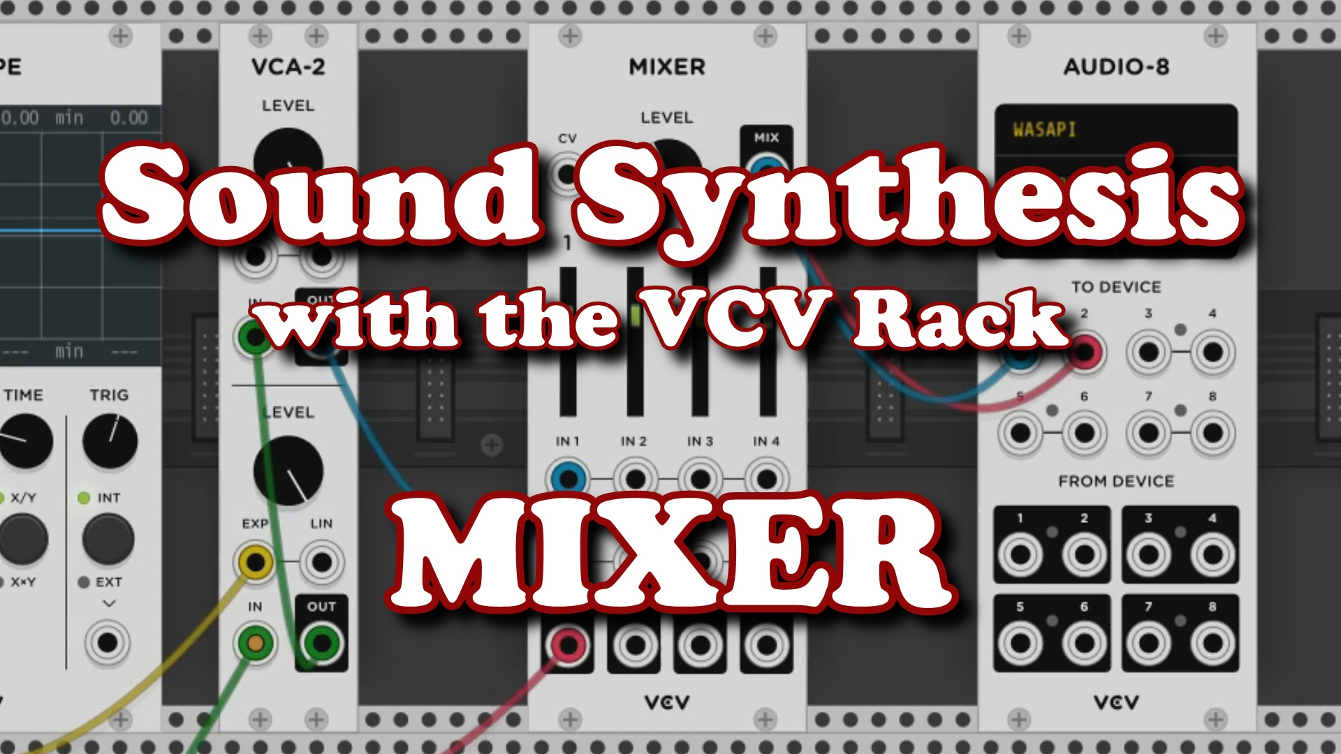 VCV Rack - MIXER screenshot