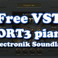 Free VST - FORT3 piano