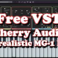 Free VST - Cherry Audio Surrealistic MG-1 Plus