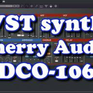 VST synthesizer - Cherry Audio DCO-106
