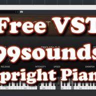 Free VST - 99sounds Upright Piano