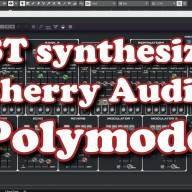 VST synthesizer - Cherry Audio Polymode