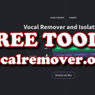 FREE TOOLS - Vocal Remover
